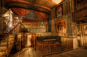 Inside the The Bird Cage Theatre, Tombstone